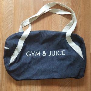 Private Party | Denim Gym & Juice Duffel Bag